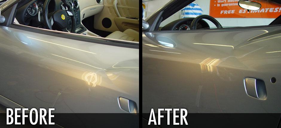 Ferrari Door Ding Repair