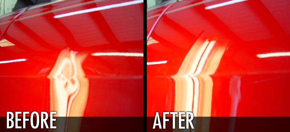 Sedan Door Dent Removal