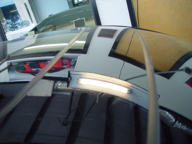 Dent removed from Accord roof